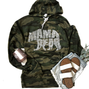OG What's In A Mama Camo Hoodie