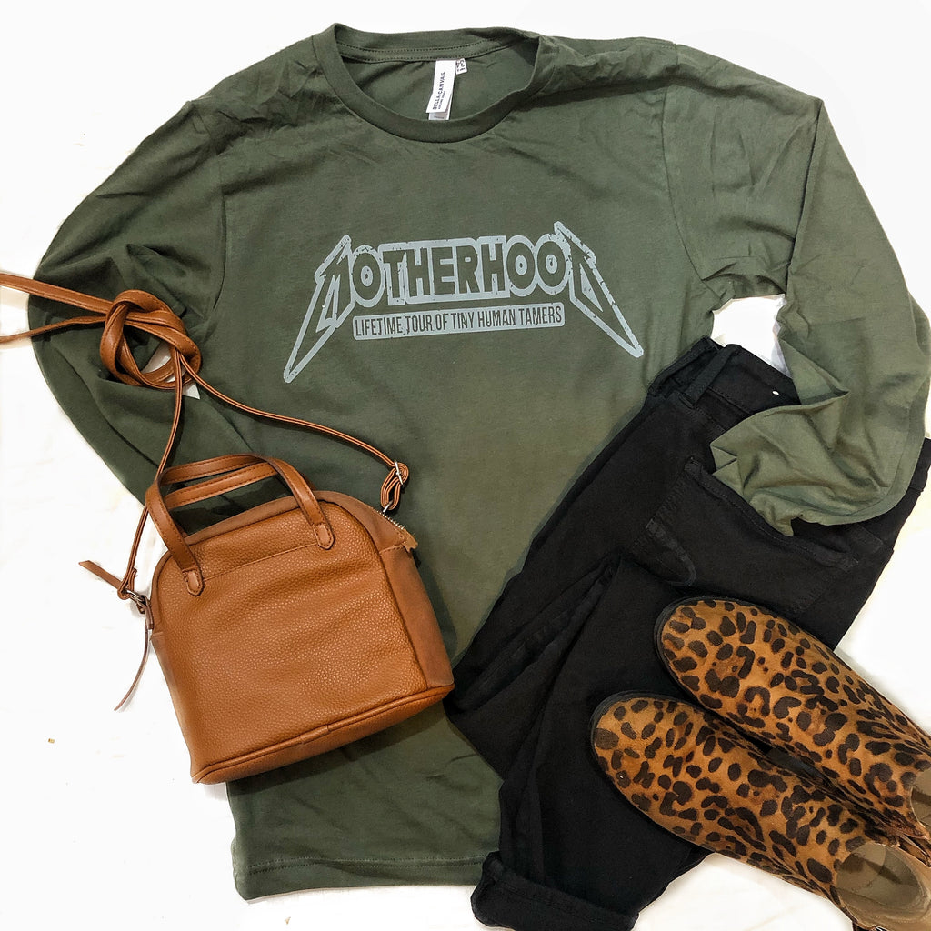 Motherhood Tour long sleeve tee