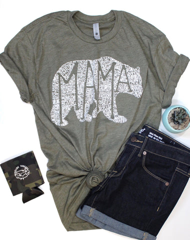 What's In A Mama Olive tee