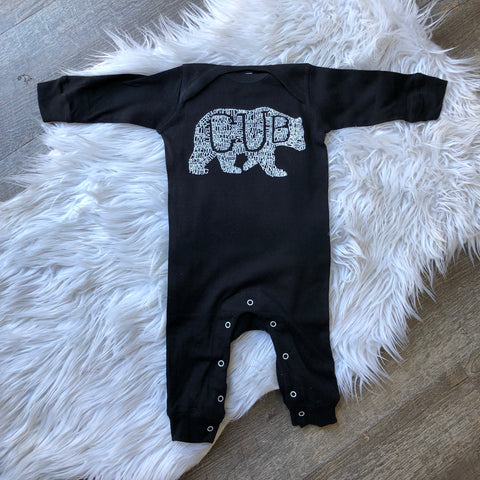 What's In A... KID - long sleeve romper