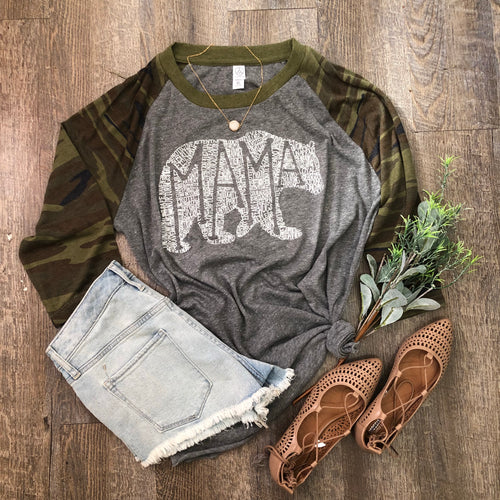 Camo Alternative Eco Raglan