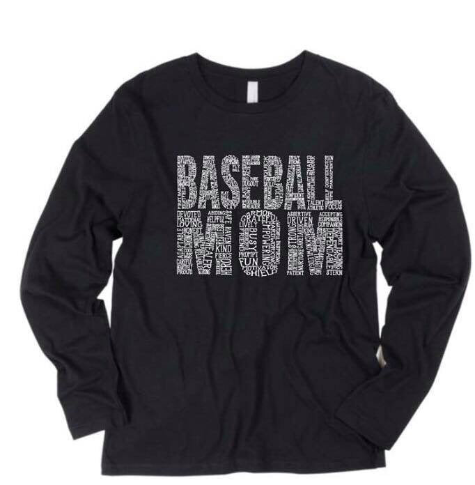 Baseball Mom Long Sleeve (9 colors available)