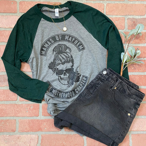 Mamas of Mayhem raglan