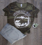 Camo Motherhood Sanctuary eco blend tee