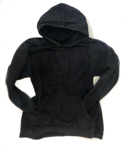| Customizable | Mineral Wash vintage black hoodie