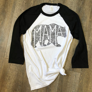 WHAT'S IN A MAMA RAGLAN tee
