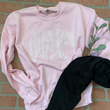 What's In A Mama PINK sweatshirt