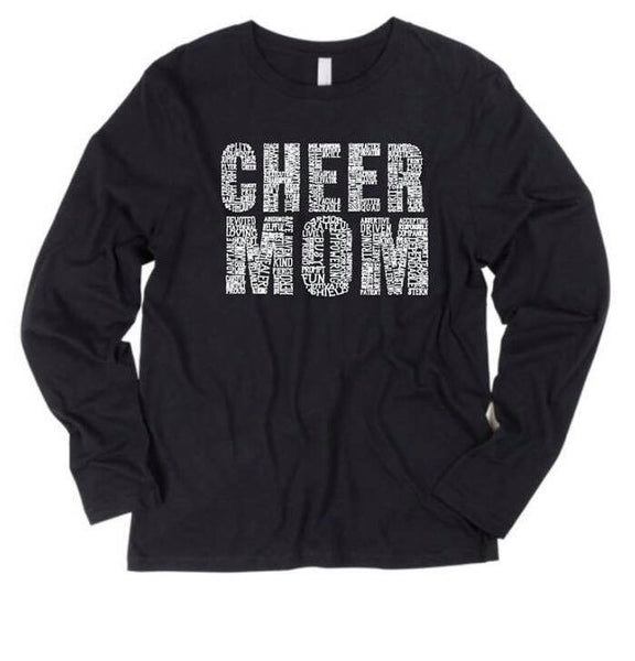 Cheer Mom Long Sleeve (9 colors available)