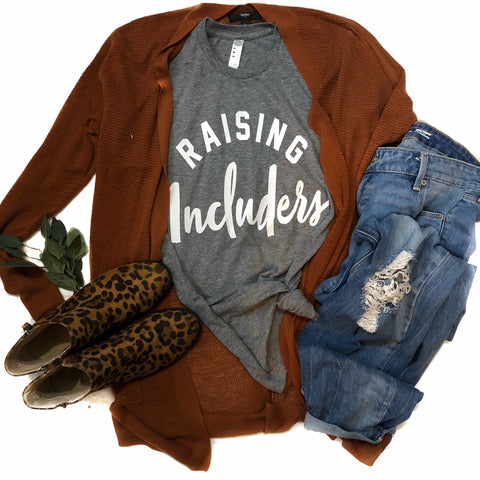 Raising Includers Athletic Grey