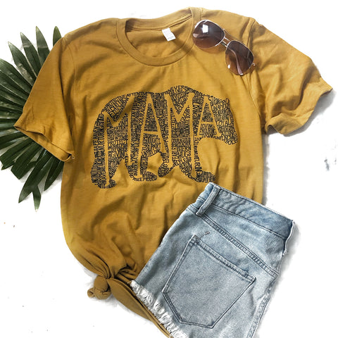 What's In A Mama - Honey Crew Neck