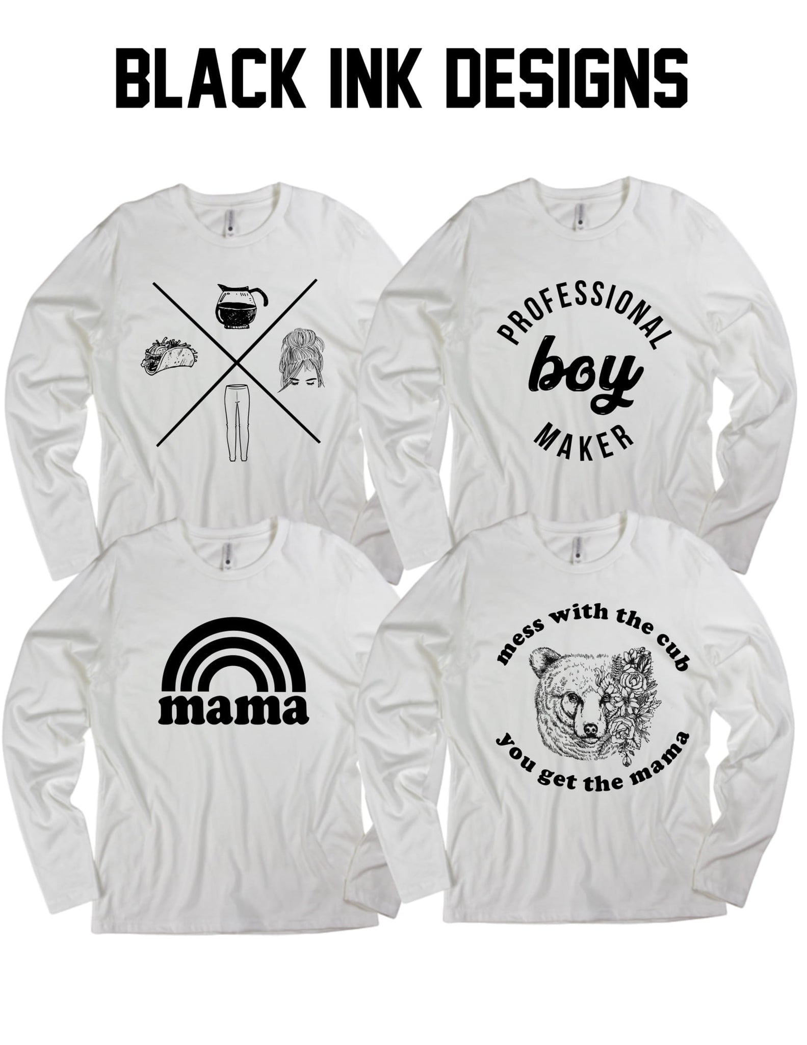 CUSTOM LONG SLEEVES