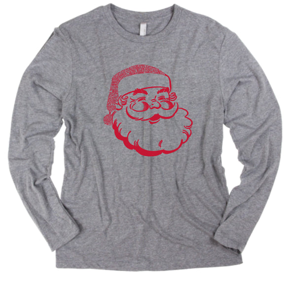 Santa Long Sleeve (9 colors available)