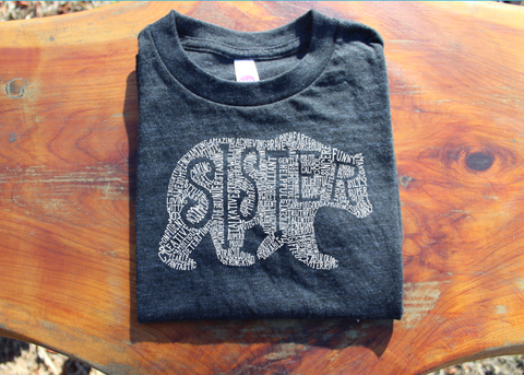 What's In A Sister - ECO CHARCOAL TRIBLEND - short sleeve