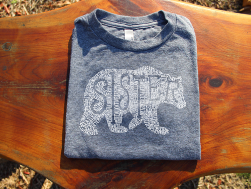 What's In A Sister - Athletic Grey Short Sleeve