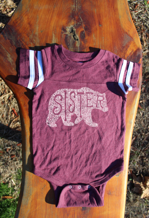 What's In A Sister - Burgundy Jersey (Infant)