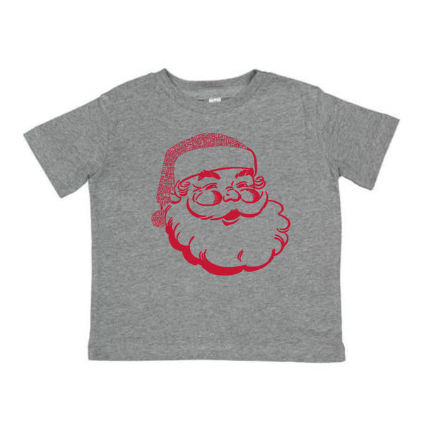 Santa kids short sleeve