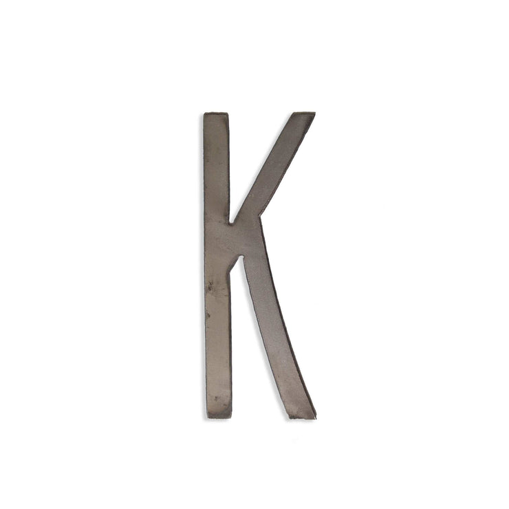 "Modern Uncoated Metal Letters / 12"" to 24"""