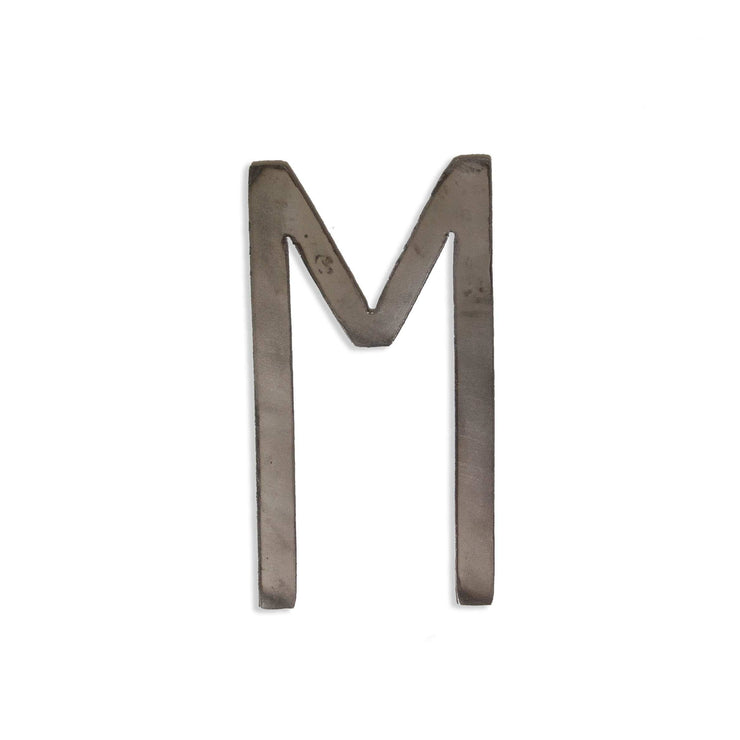 "Modern Uncoated Metal Letters / 4"" to 8"""