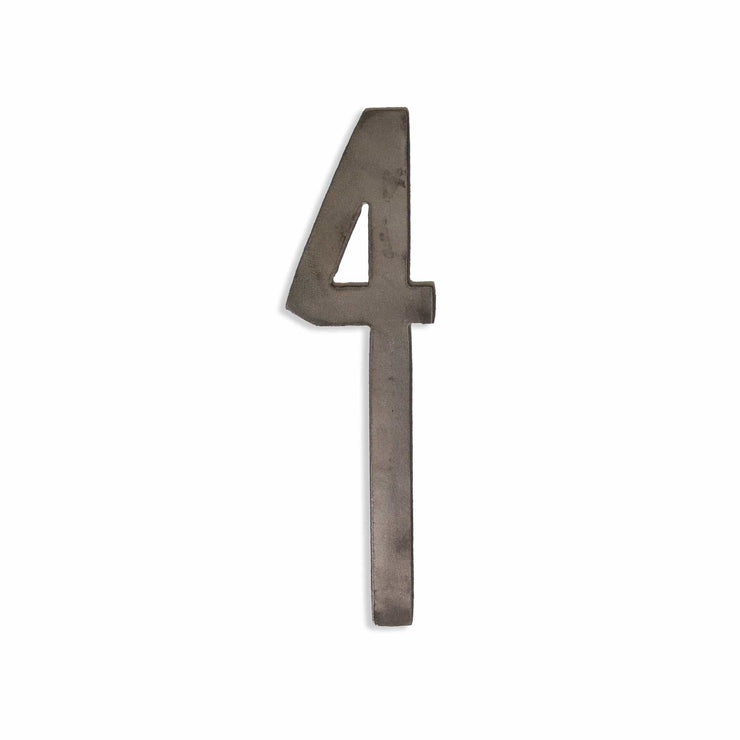 "Modern Uncoated Metal Numbers / 12"" to 24"""