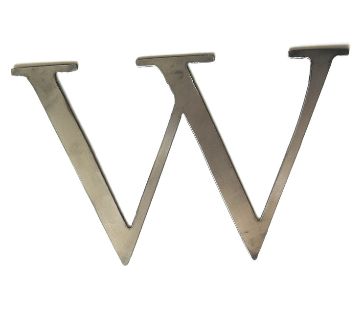 "Serif Uncoated Metal Letters / 12"" to 24"""