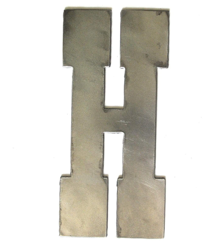 "Farmhouse Uncoated Metal Letters / 12"" to 24"""