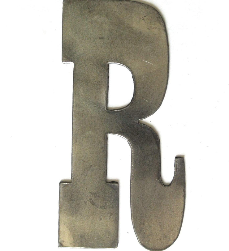 "Farmhouse Uncoated Metal Letters / 4"" to 8"""