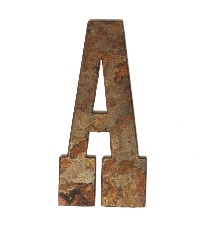 "Farmhouse Rusty Metal Letters / 4"" to 8"""