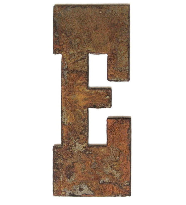 "Farmhouse Rusty Metal Letters / 12"" to 24"""