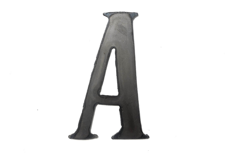 "Cosmic Uncoated Metal Letters / 4"" to 8"""