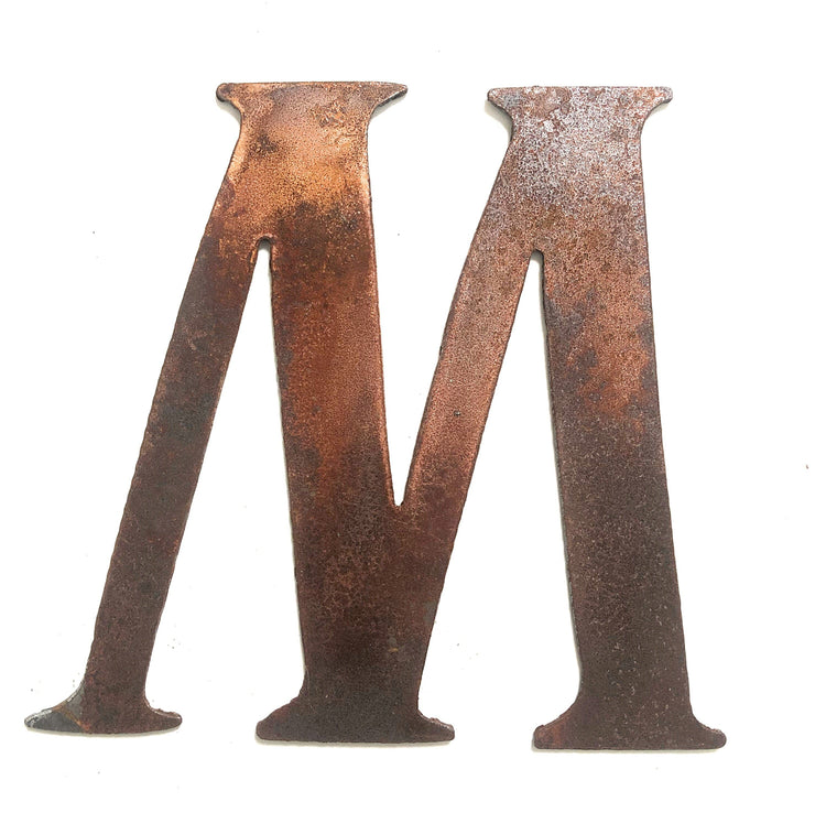 "Cosmic Rusty Metal Letters / 4"" to 8"""