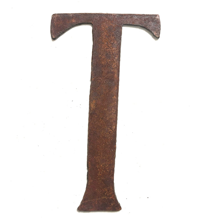 "Cosmic Rusty Metal Letters / 12"" to 24"""