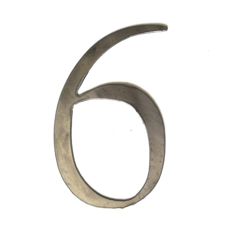 "Serif Uncoated Metal Numbers / 12"" to 24"""