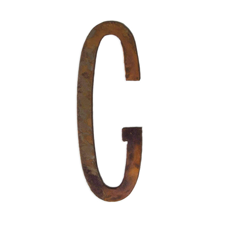 "Modern Rusty Metal Letters / 12"" to 24"""