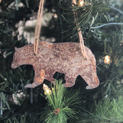 Timberland - Rusty Metal Ornament Gift Set - MOOSE, BEAR, HEART