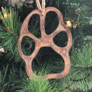 Must Love Dogs - Rusty Metal Ornament Gift Set - DOG, HEART, BONE