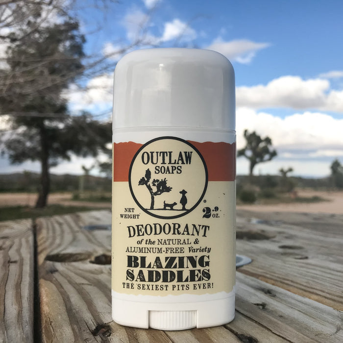 All new Outlaw Soaps Natural DEODORANT!