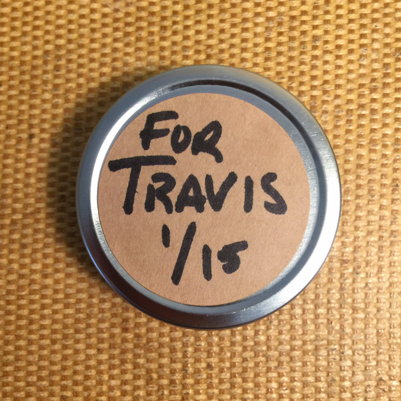 Blazing Saddles Solid Cologne: You have Travis to thank for this