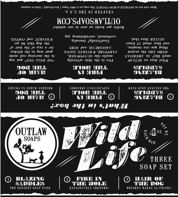 The Wild Life Soap Set: The Western soap set for the Wild West enthusiast in your life