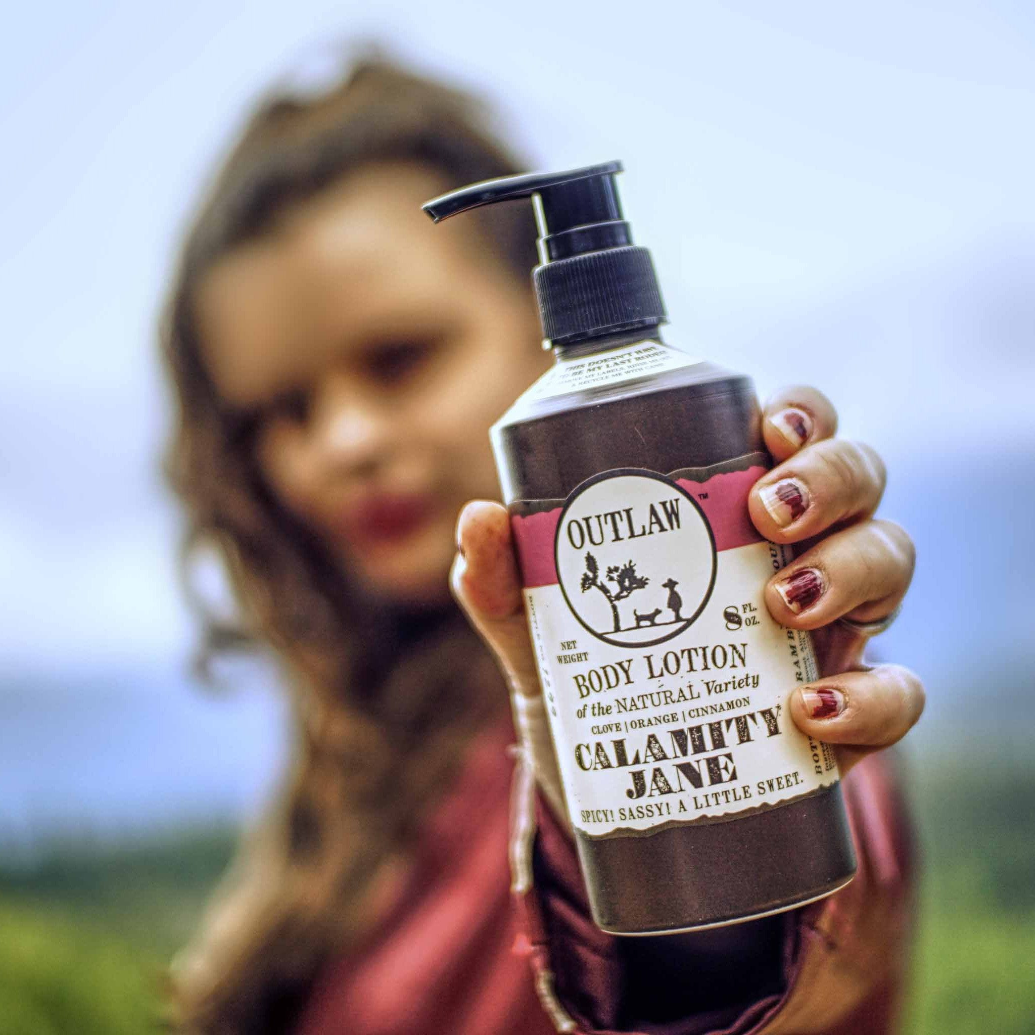Outlaw Natural Lotion for Men and Women