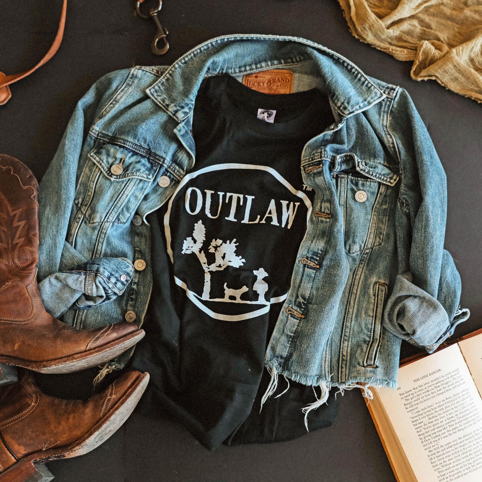Shop Outlaw Gear and be the best dressed outlaw in the west