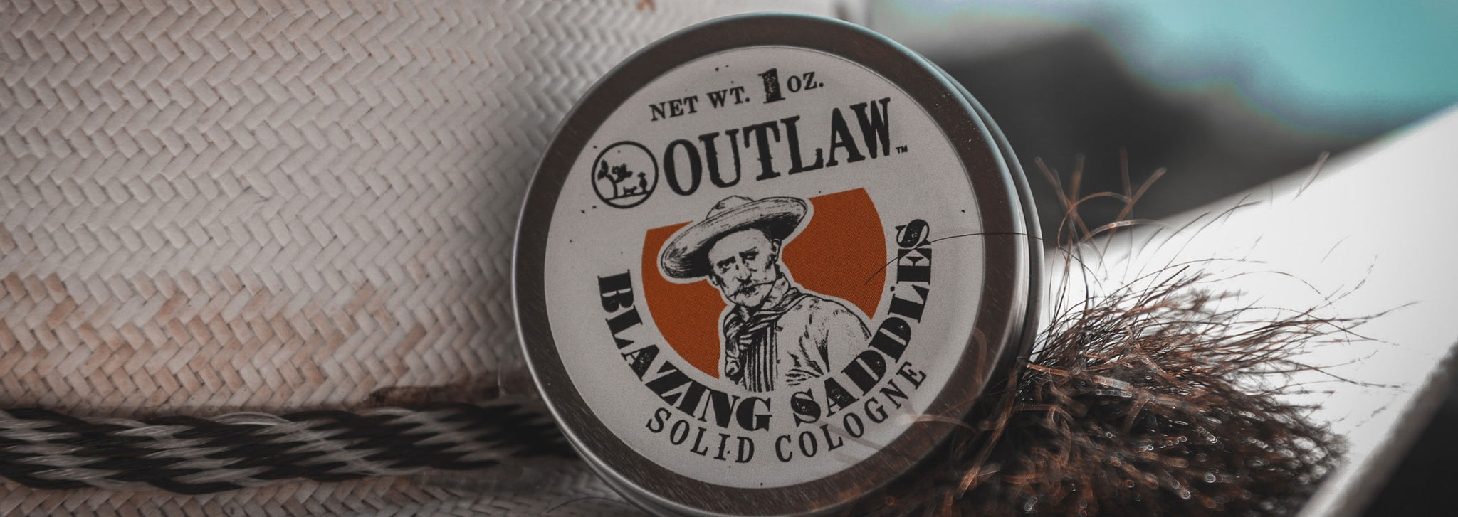 Blazing Saddles Western Leather Gunpowder Cologne