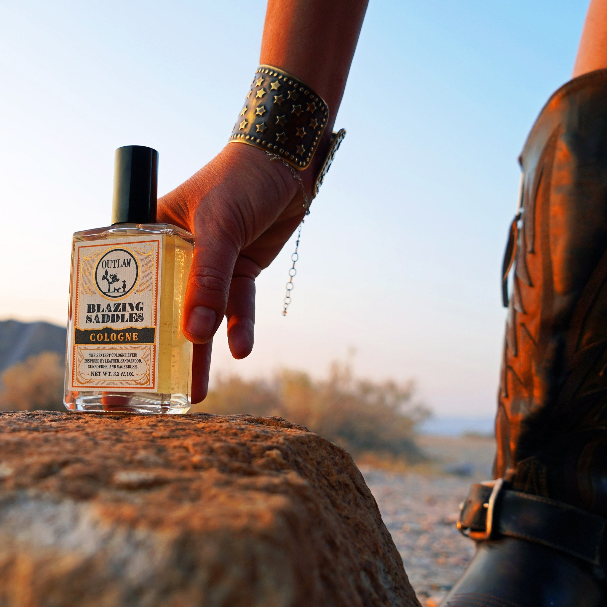 Outlaw Mens and Womens Unisex Cologne