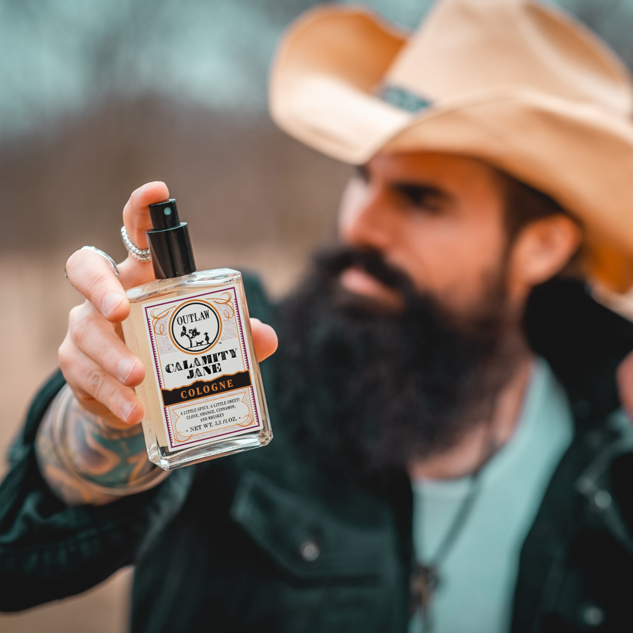 Western Outlaw Cologne for men and women