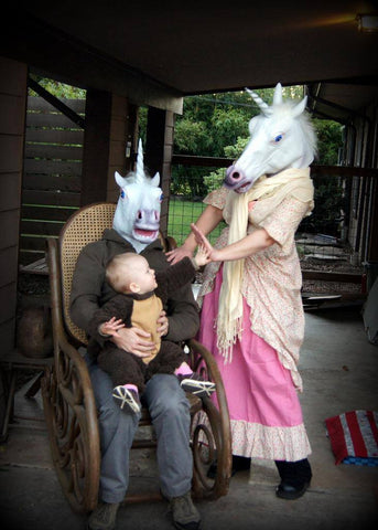 live unicorns at home