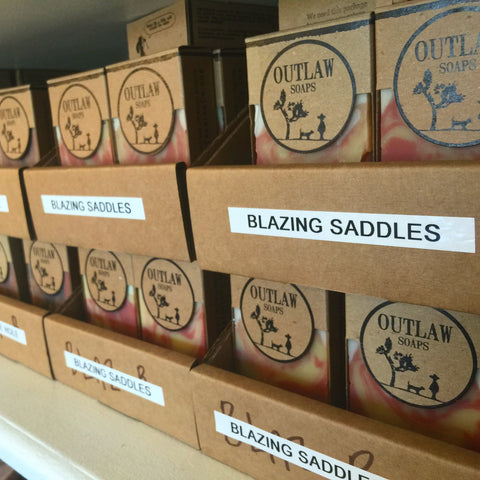 Blazing Saddles soap: the sexiest soap ever