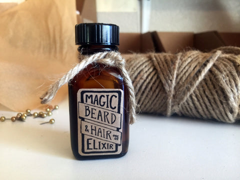Magic beard oil and hair elixir