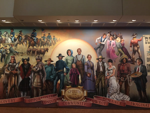 Mural at the Autry