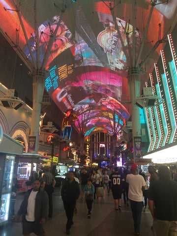 The Fremont Experience in Vegas