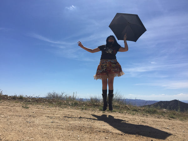 Mary Poppins on a road trip