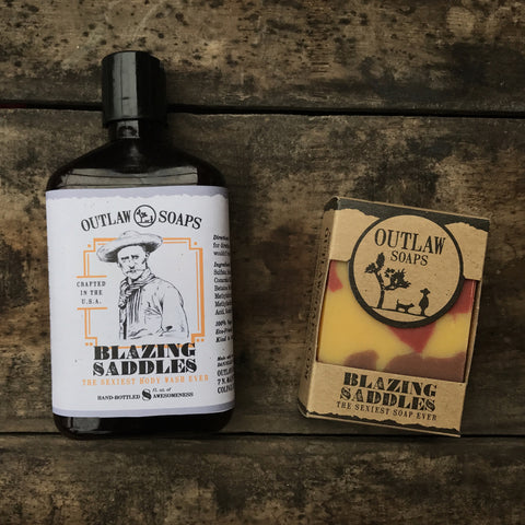 Blazing Saddles Body Wash: the sexiest body wash ever